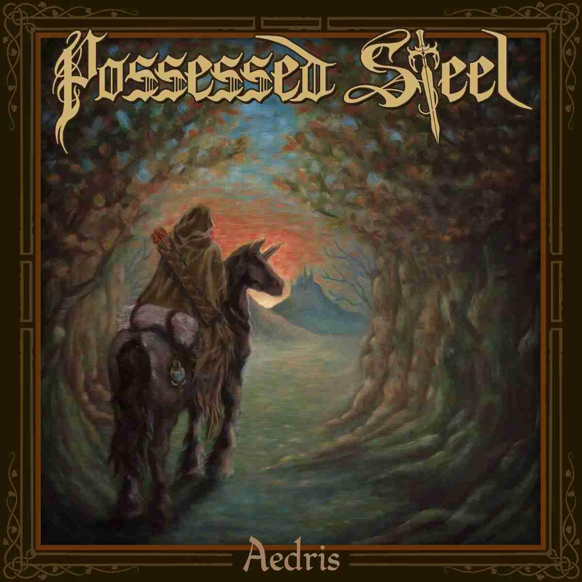 Possessed Steel - Aedris - album cover