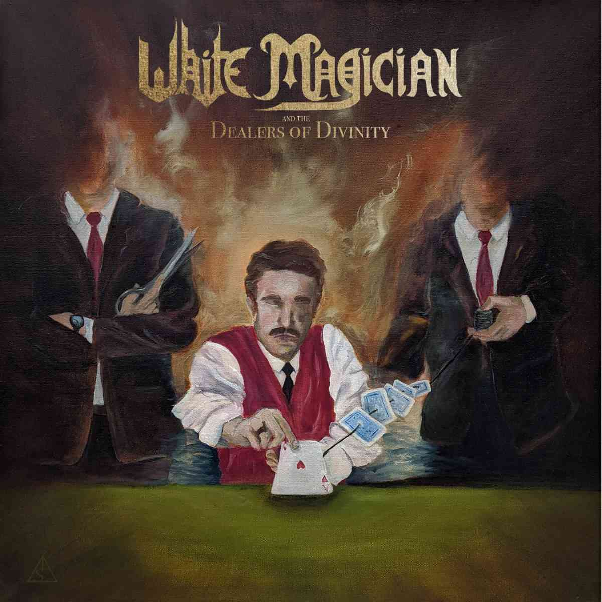 White Magician - Dealers Of Divinity - album cover