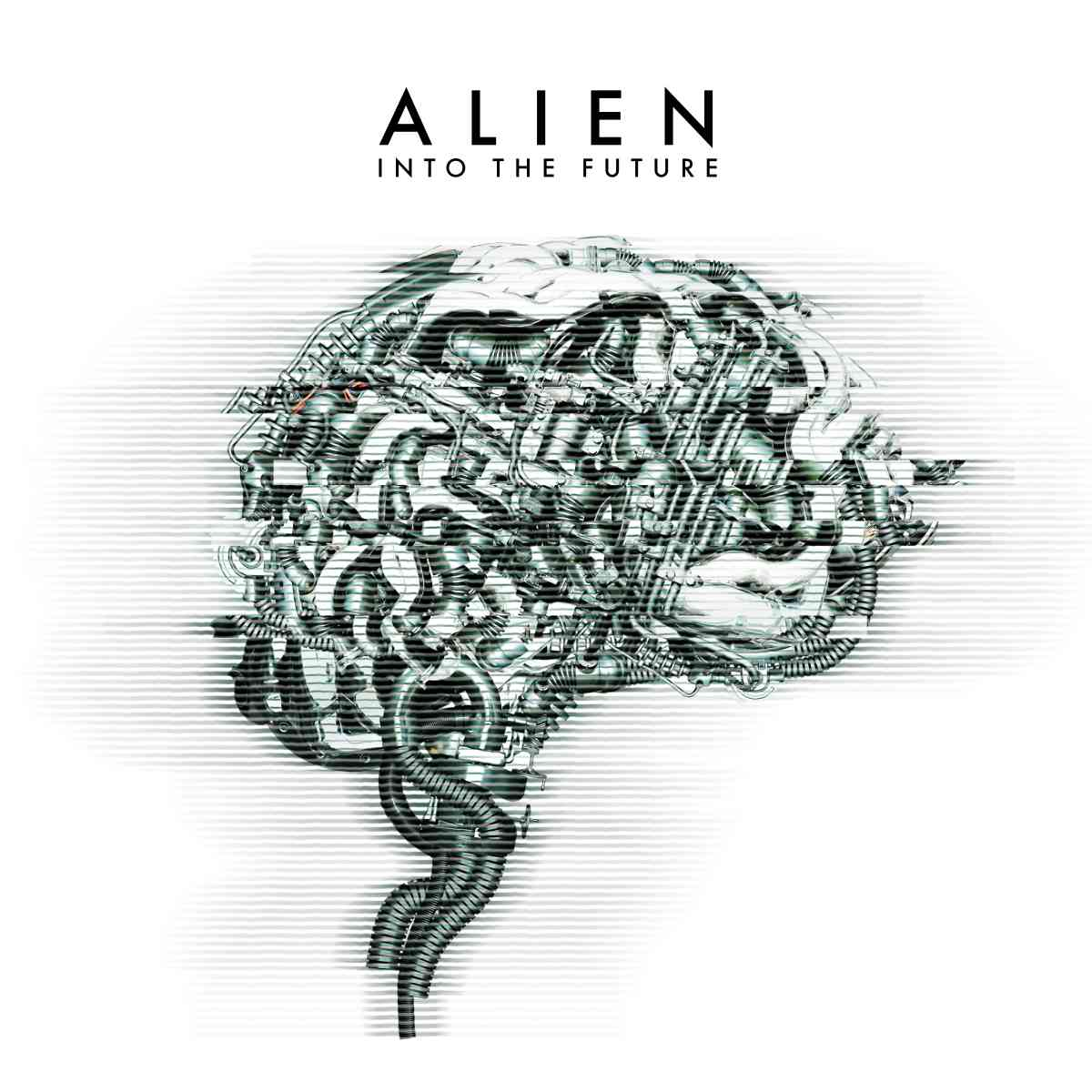 alien - into the future - album cover