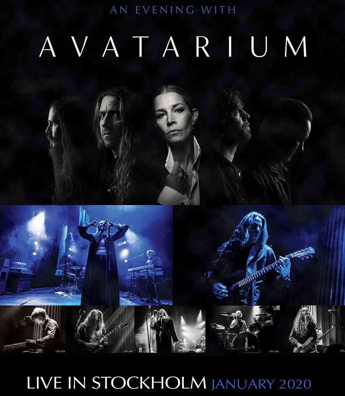 avatarium - An Evening With Avatarium - album cover