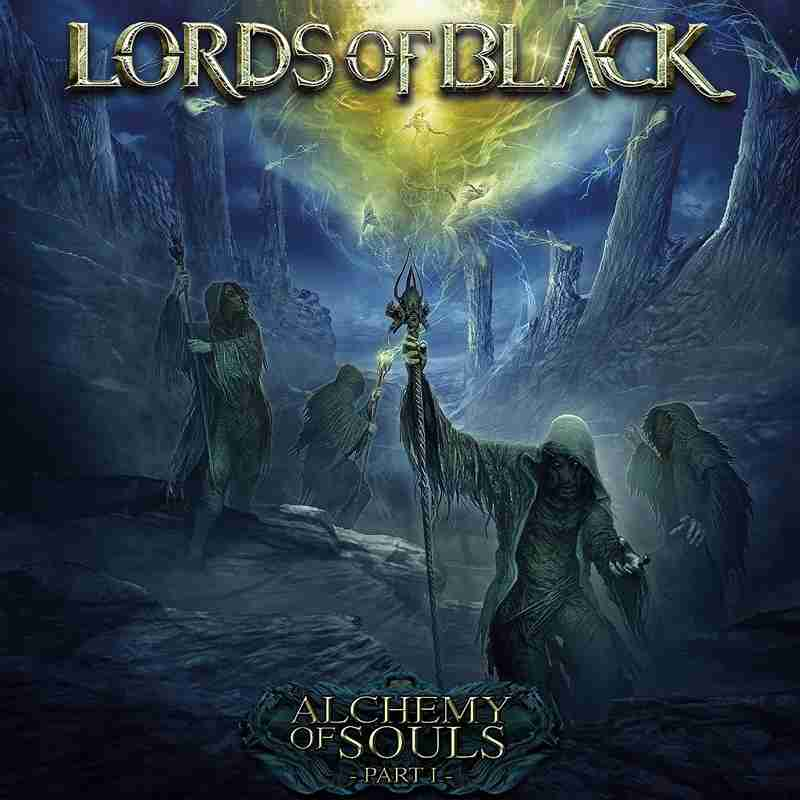 lords of black - alchemy of souls - part 1 - album cover