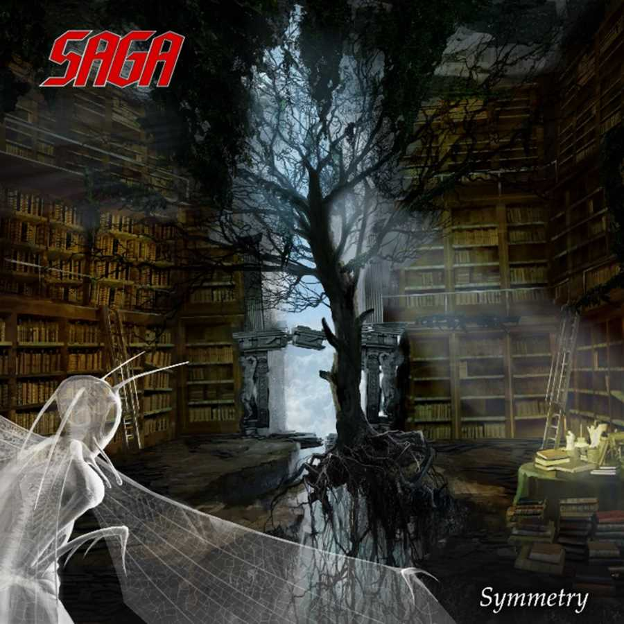 saga - symmetry - album cover