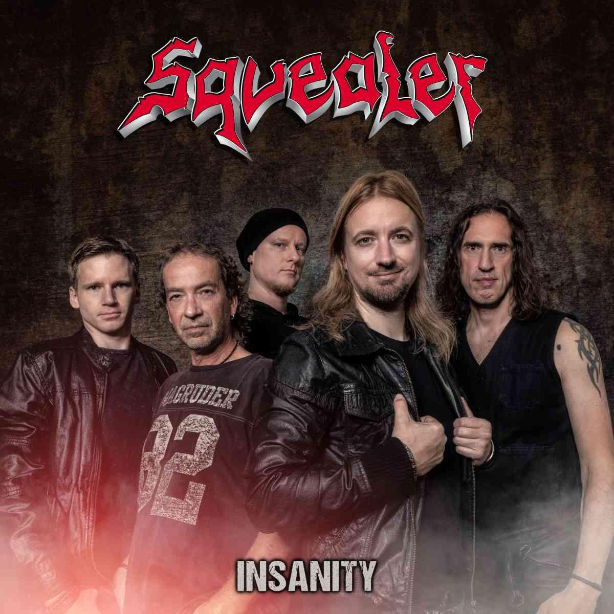 squealer - insanity - album cover