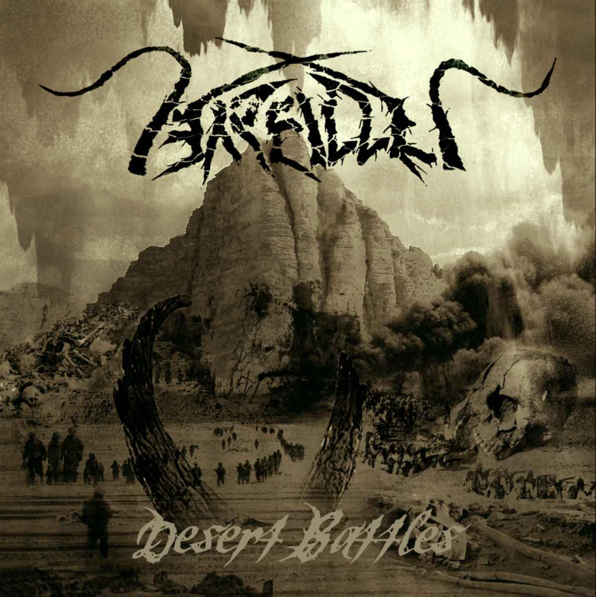 Arallu - Desert - Battles - album cover