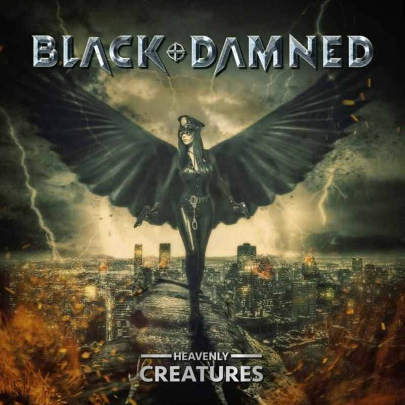 Black and Damned - Heavenly Creatures - album cover