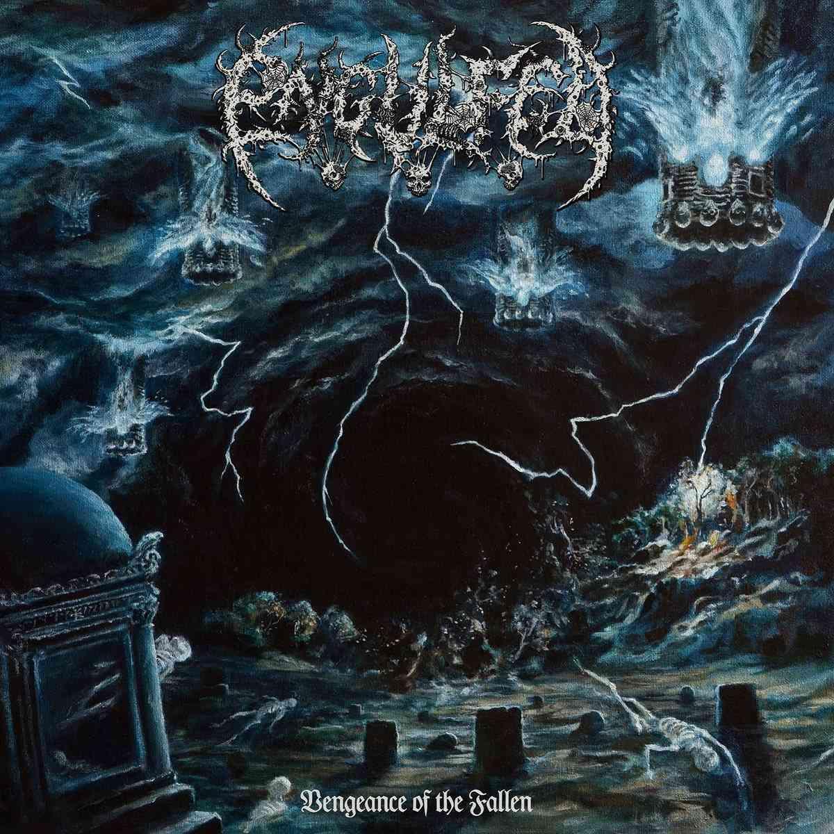 Engulfed - Vegeance Of The Fallen - album cover