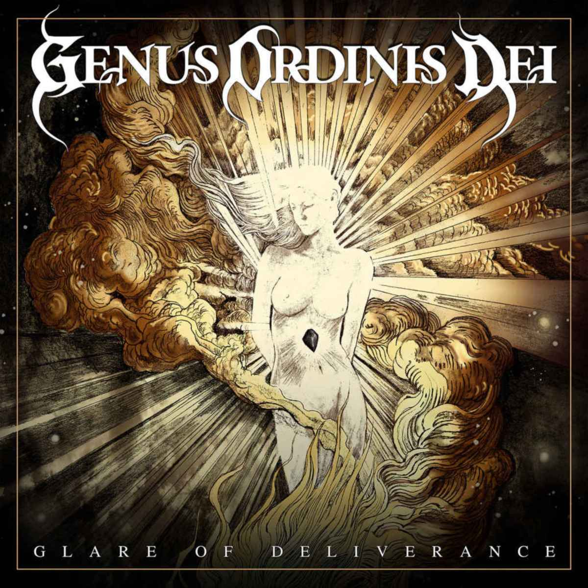 GENUS ORDINIS DEI - Glare of Deliverance - album cover