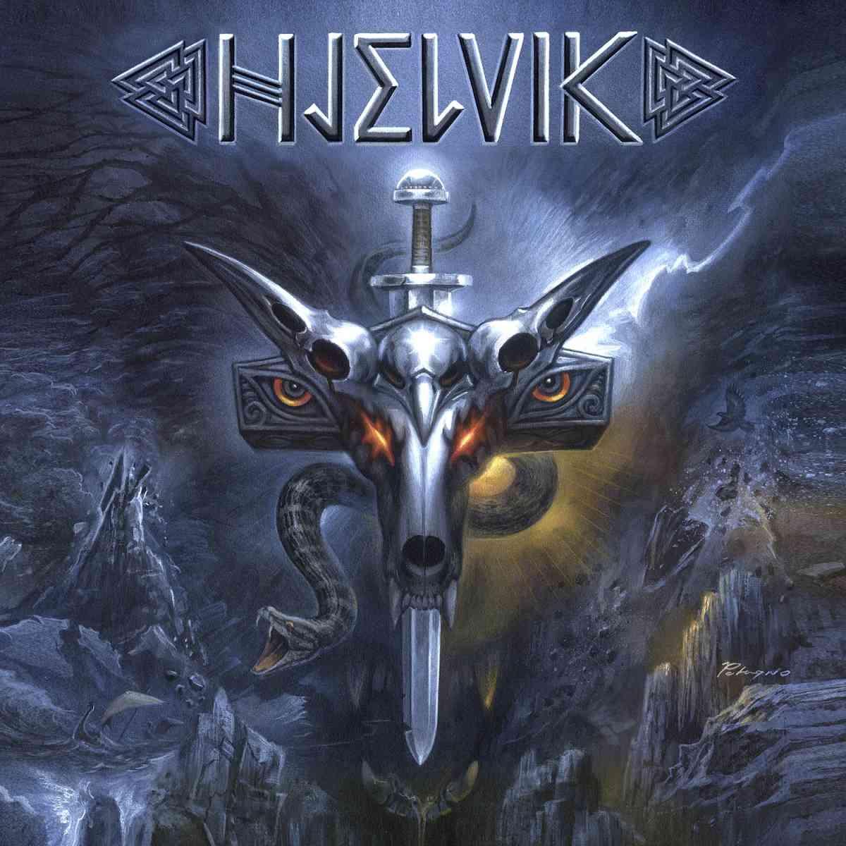 HJELVIK - Welcome To Hel - album cover