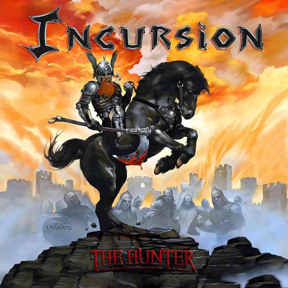 INCURSION - The Hunter - album cover