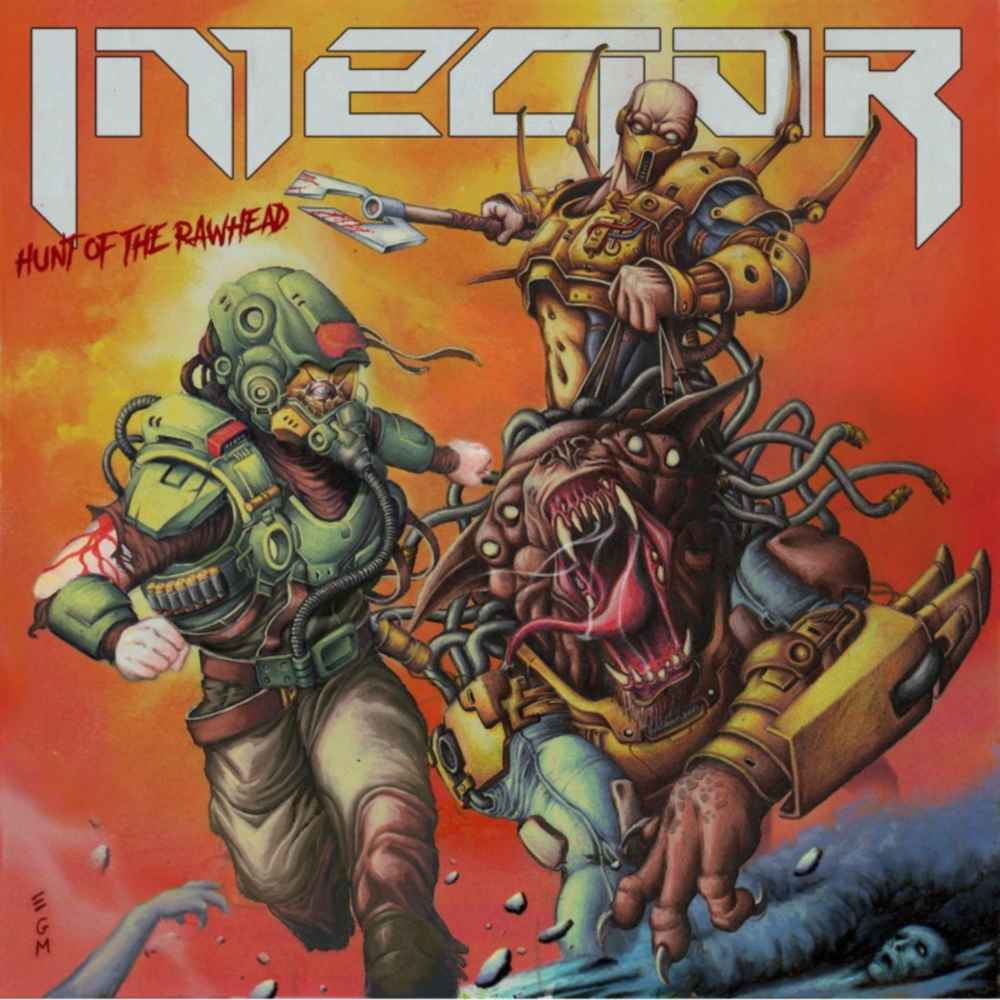 Injector - Hunt Of The Rawhead - album cover