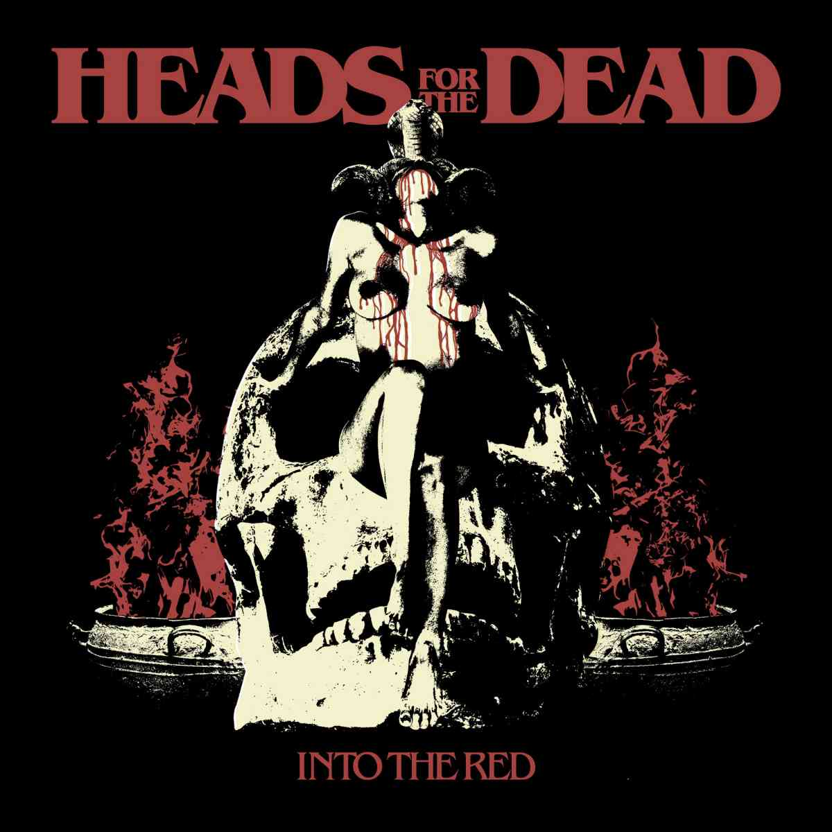 Into the Red - Heads for the Dead - album cover
