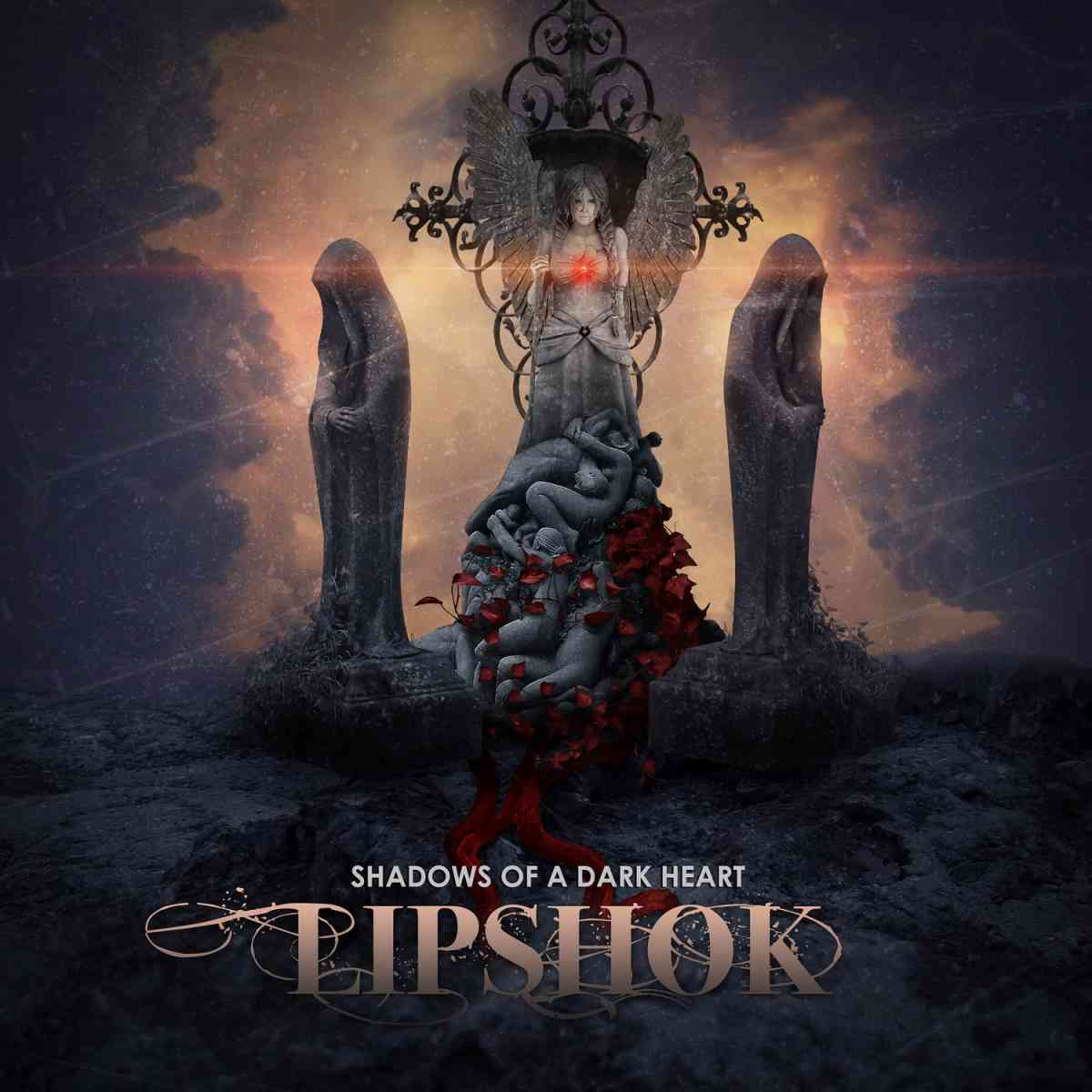 Lipshok - Shadows Of A Dark Heart - album cover