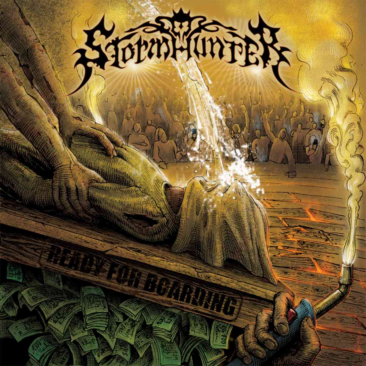 Stormhunter - ready for boarding - album cover