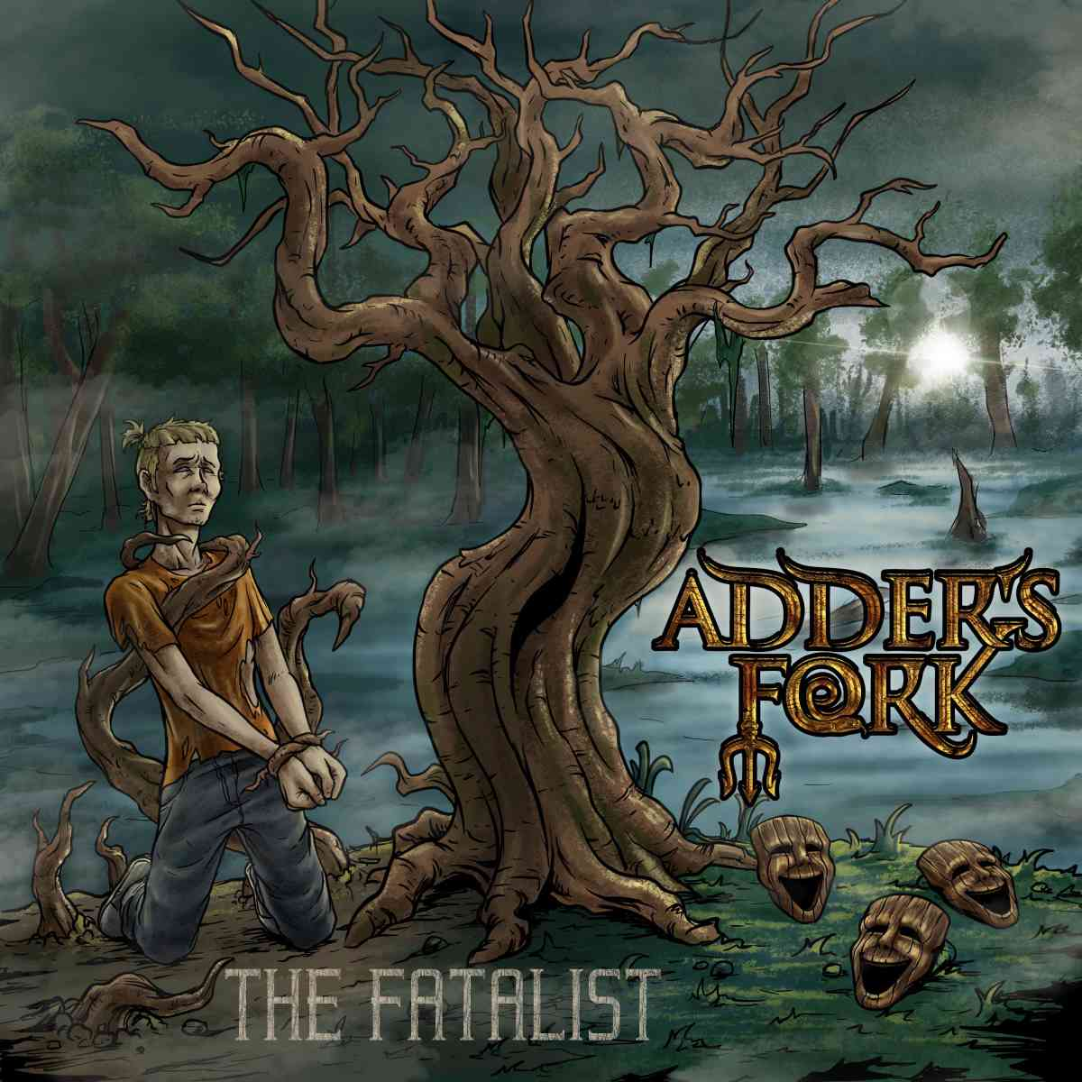 adders fork - The Fatalist - album cover