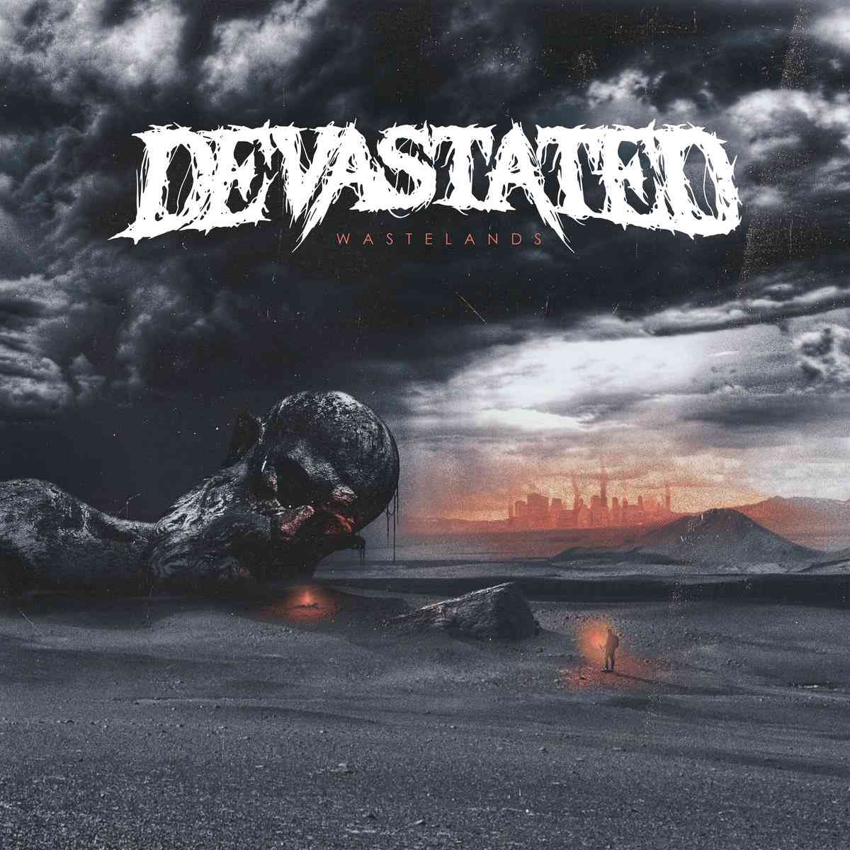 devastated - wastelands - album cover