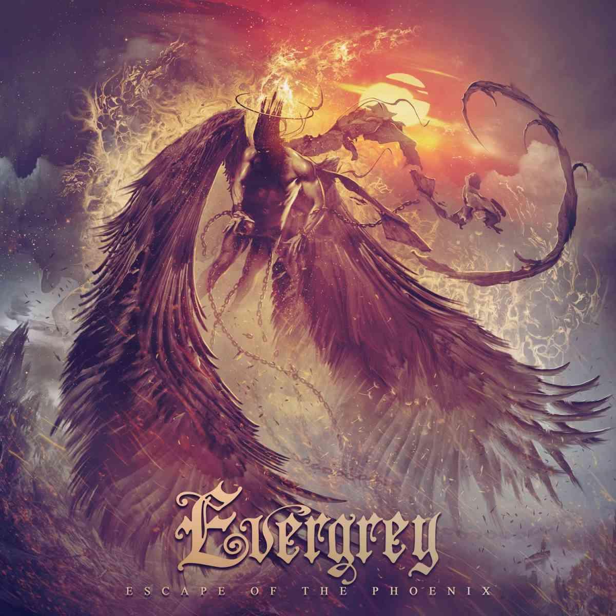 evergrey - escape of the phoenix - album cover
