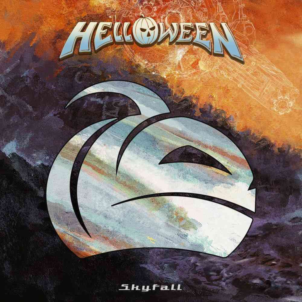 helloween - skyfall - single cover