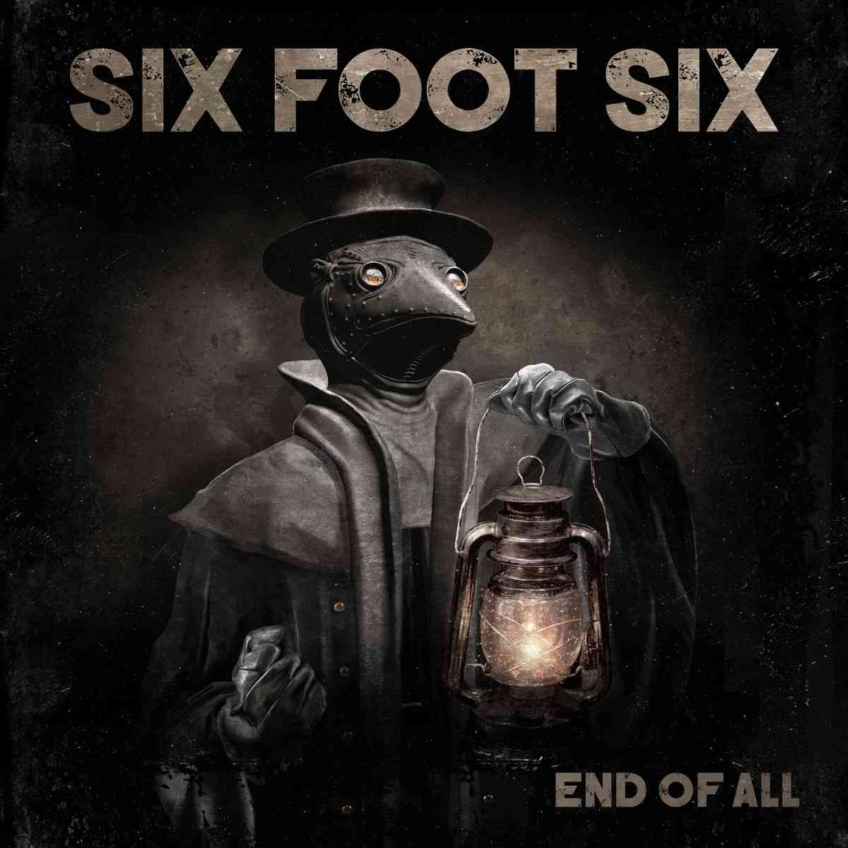 six foot six - end of all - album cover