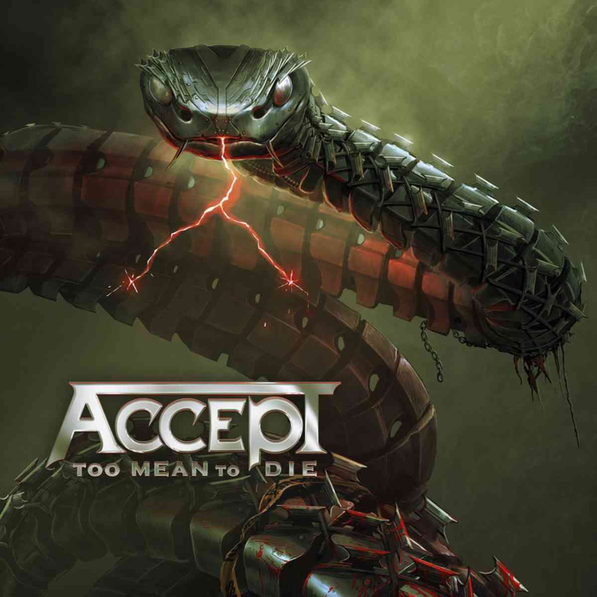 Accept - Too Mean To Die - album cover