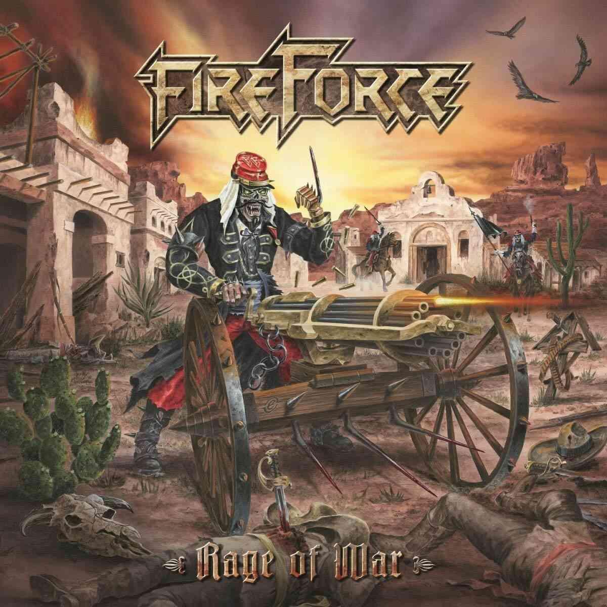 Fireforce - Rage Of War - album cover