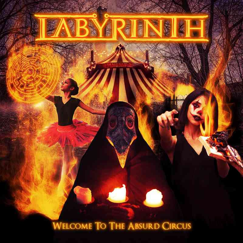 LABYRINTH - Welcome To The Absurd Circus - album cover