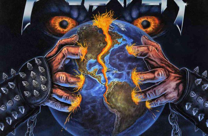 Pounder - Breakin The World - album cover