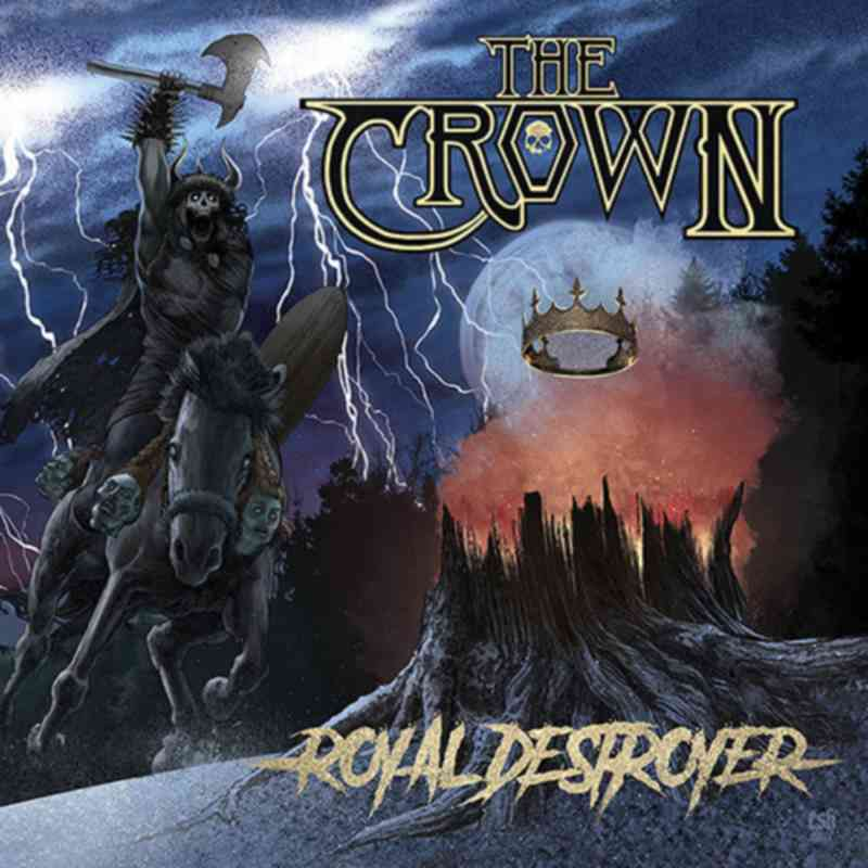 The Crown - Royal Destroyer - album cover