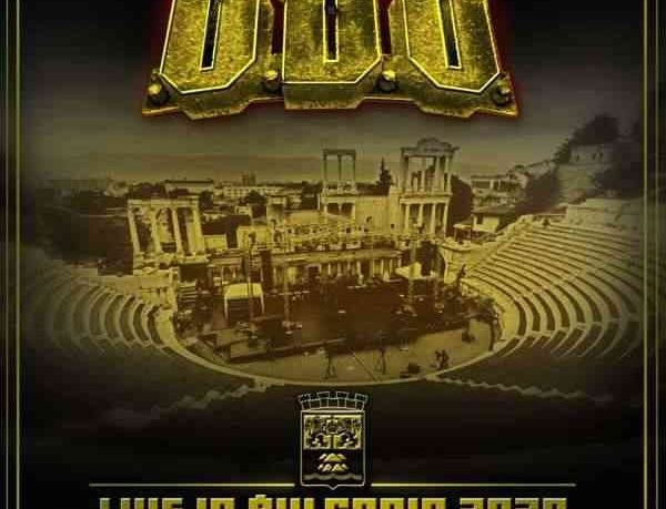 UDO - Live In Bulgaria 2020 - Pandemic Survival Show - album cover