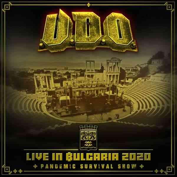 UDO - Live In Bulgaria 2020 - Pandemic Survival Show - album cover