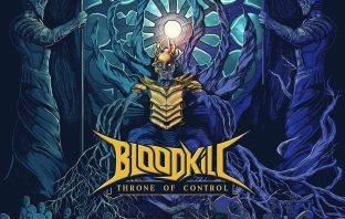 bloodkill - throne of control - album cover
