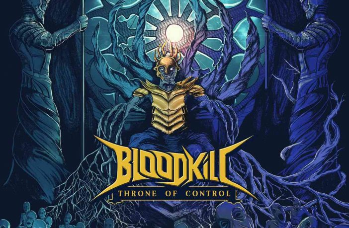 bloodkill - throne of control - album cover