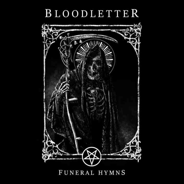 bloodletter - funeral hymns - album cover