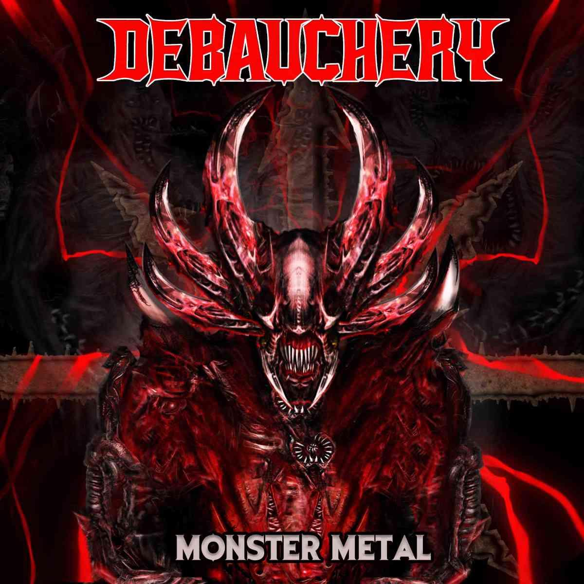 debauchery - monster metal - album cover