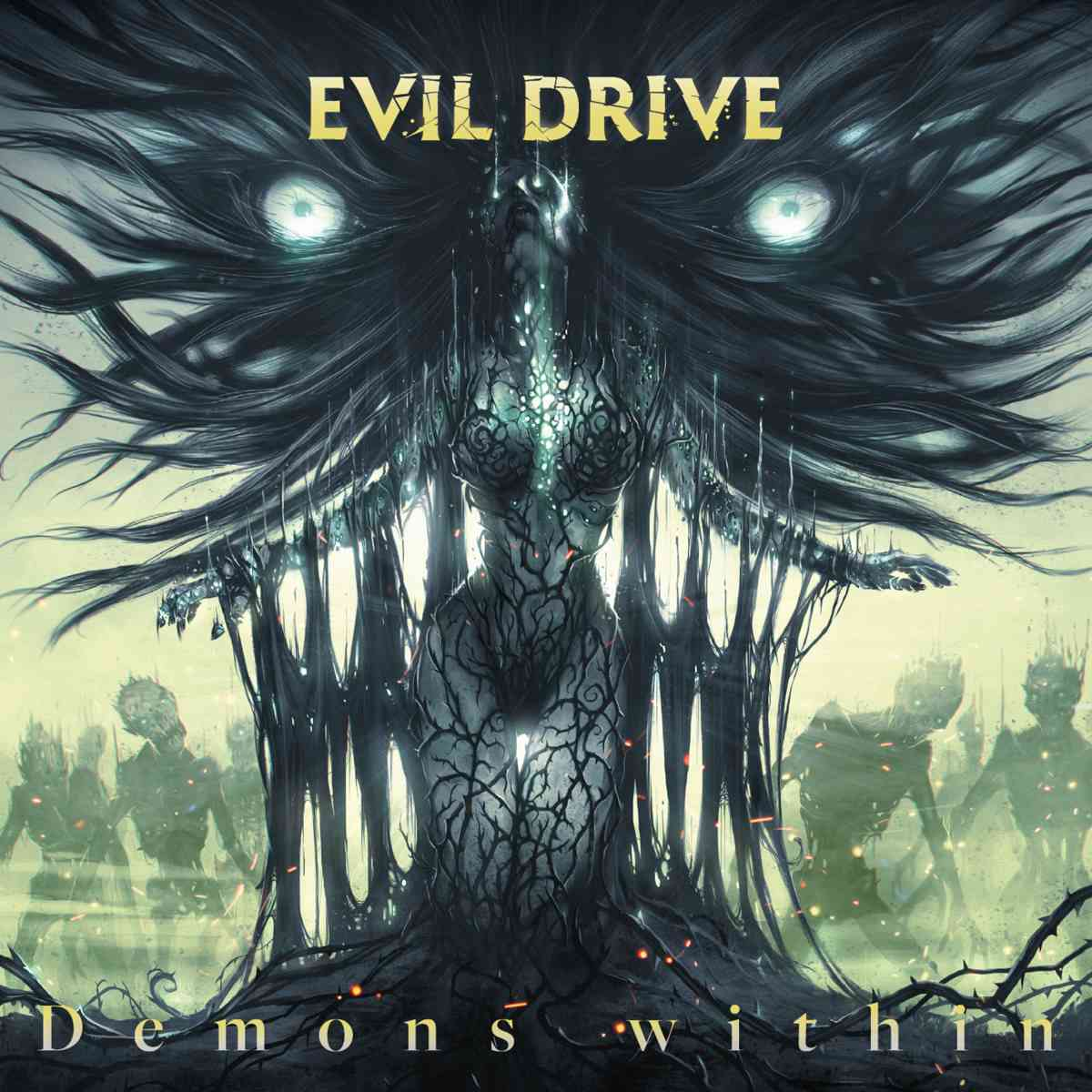 evil drive - Demons Within - album cover