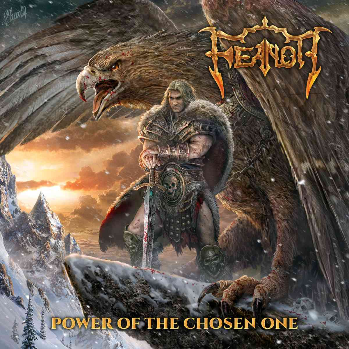 feanor - power of the chosen one - album cover