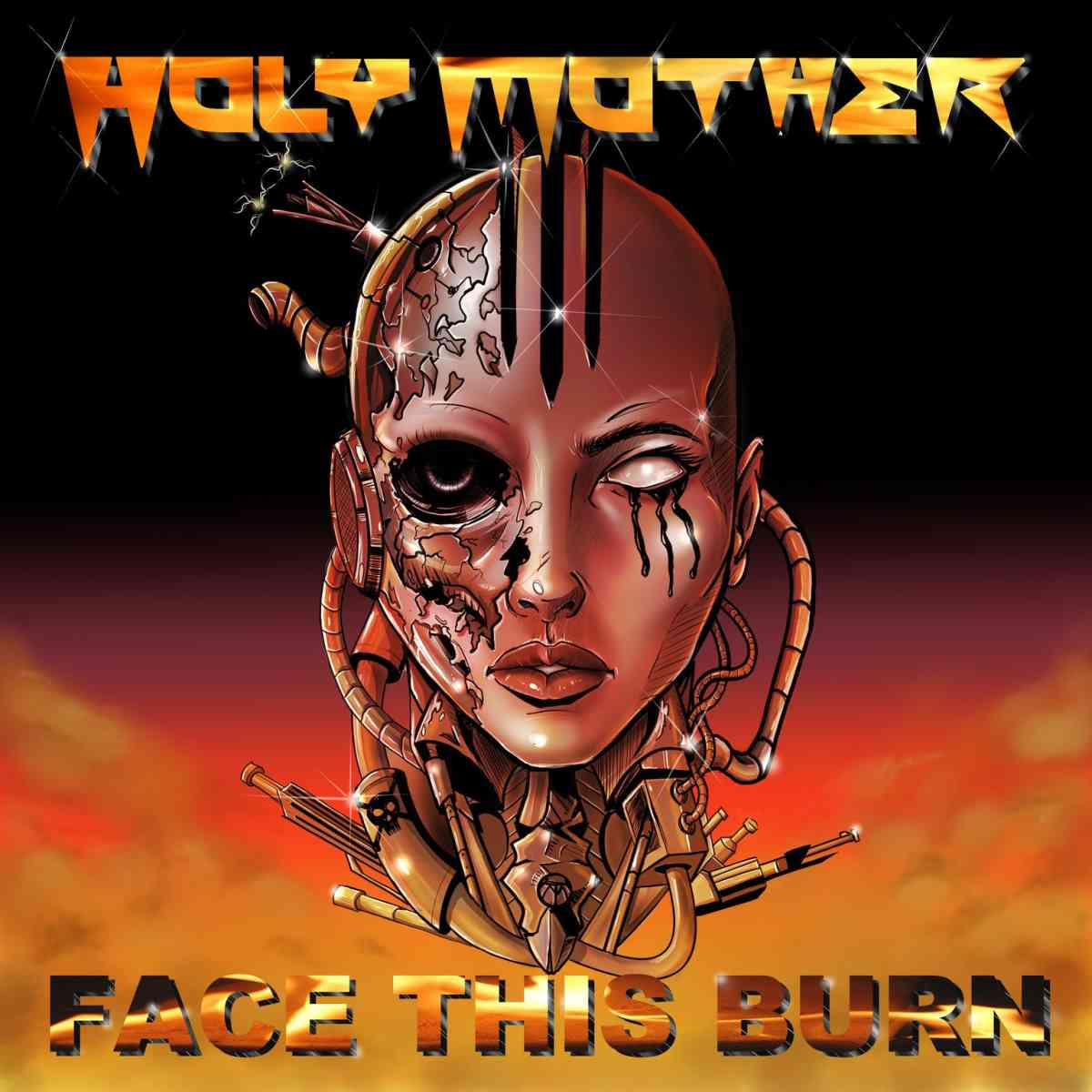 holy mother - face this burn - album cover