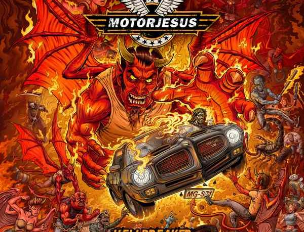 motorjesus - hellbreaker - album cover