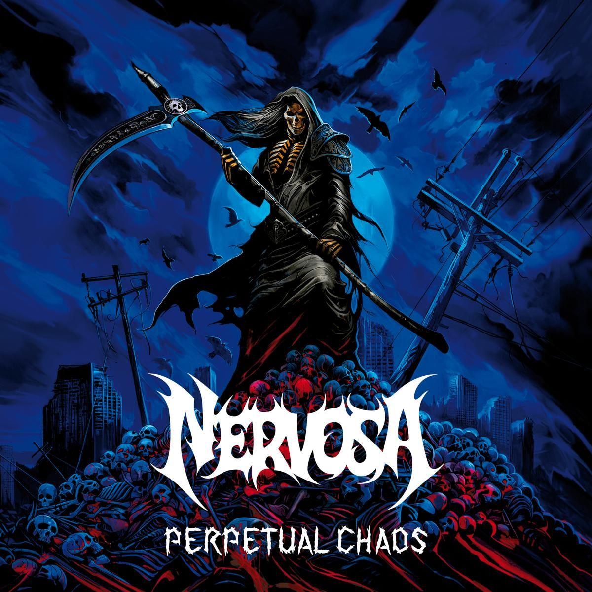 nervosa - perpetual chaos - album cover