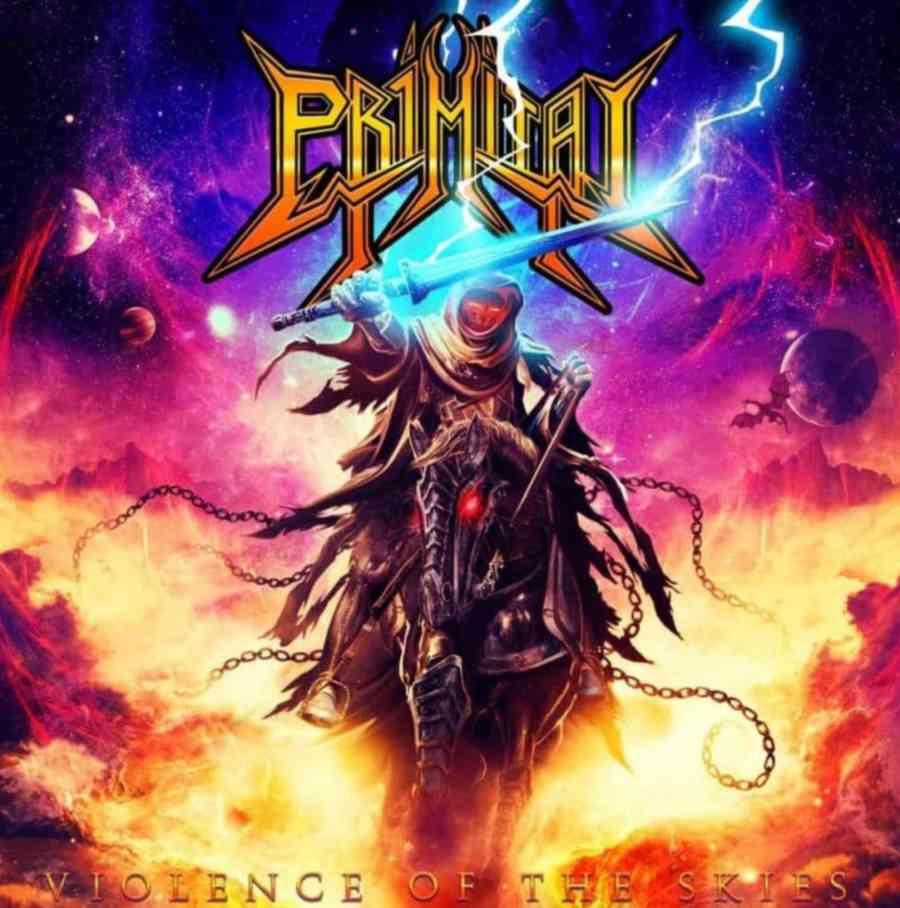 primitai - violence of the skies - album cover