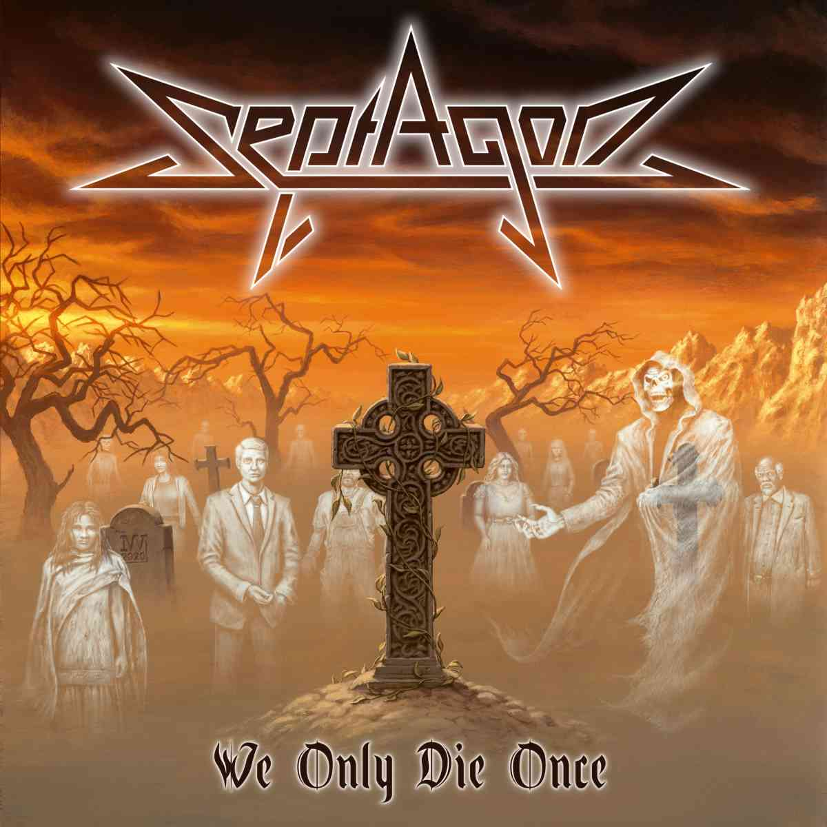 septagon - we only die once - album cover