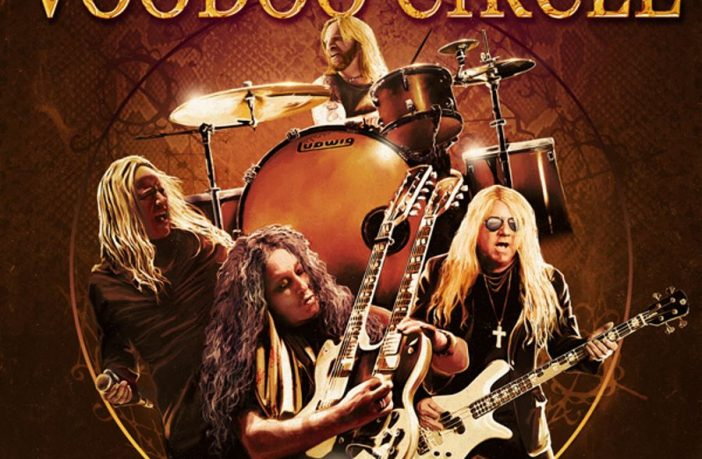 voodoo circle - locked and loaded - album cover