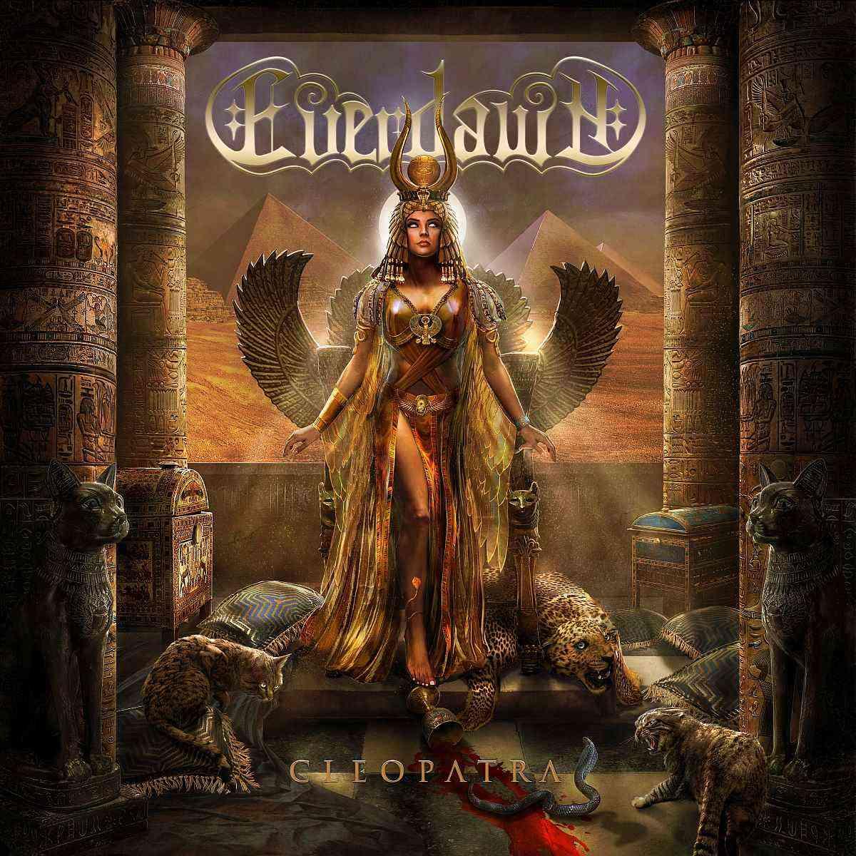 EVERDAWN - Cleopatra - album cover