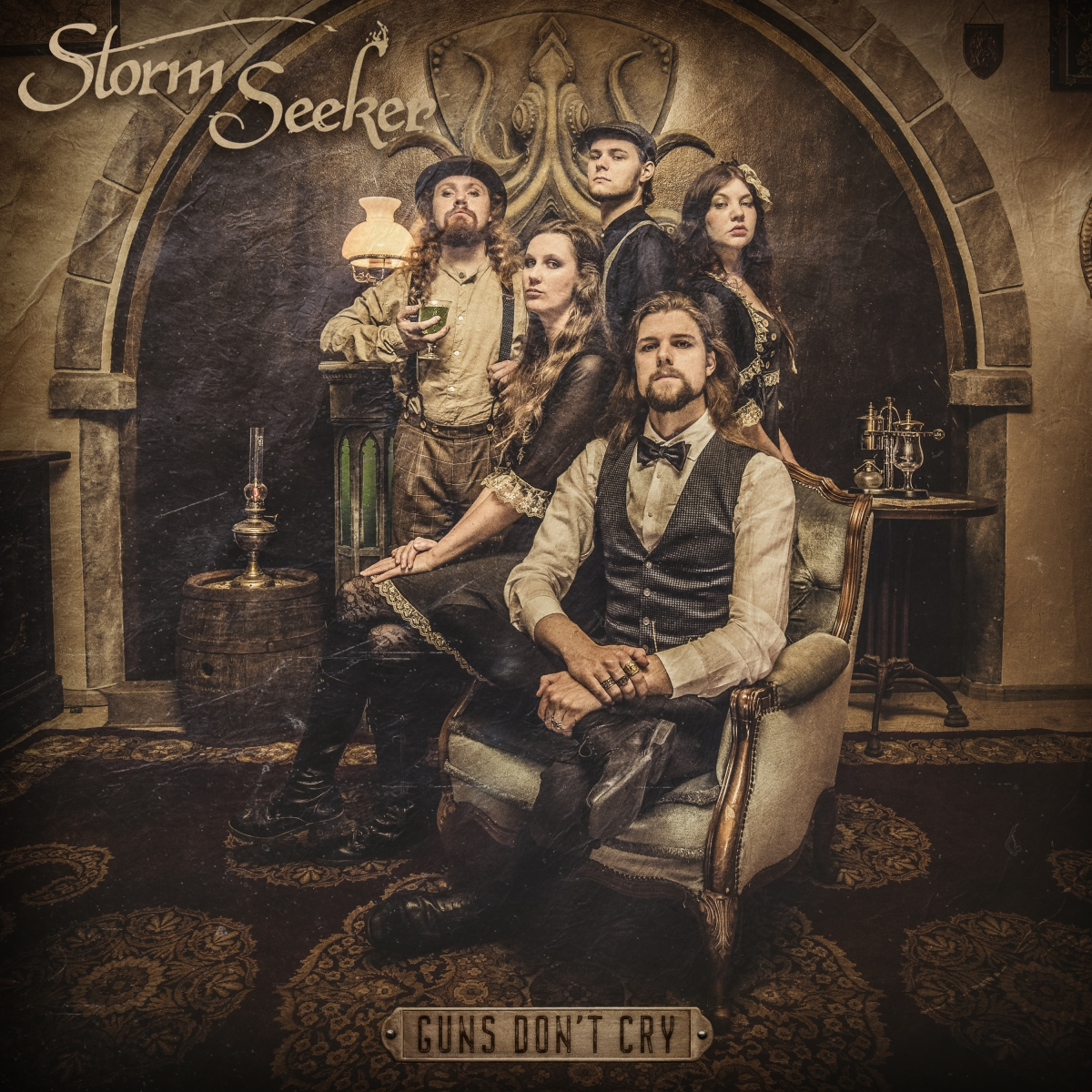 storm seeker - guns dont cry - album cover