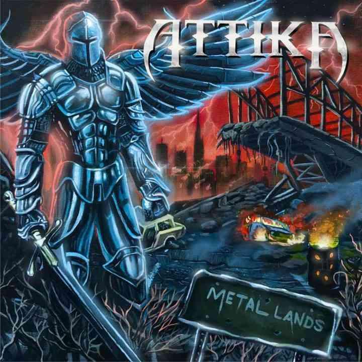 ATTIKA - Metal Lands - album cover