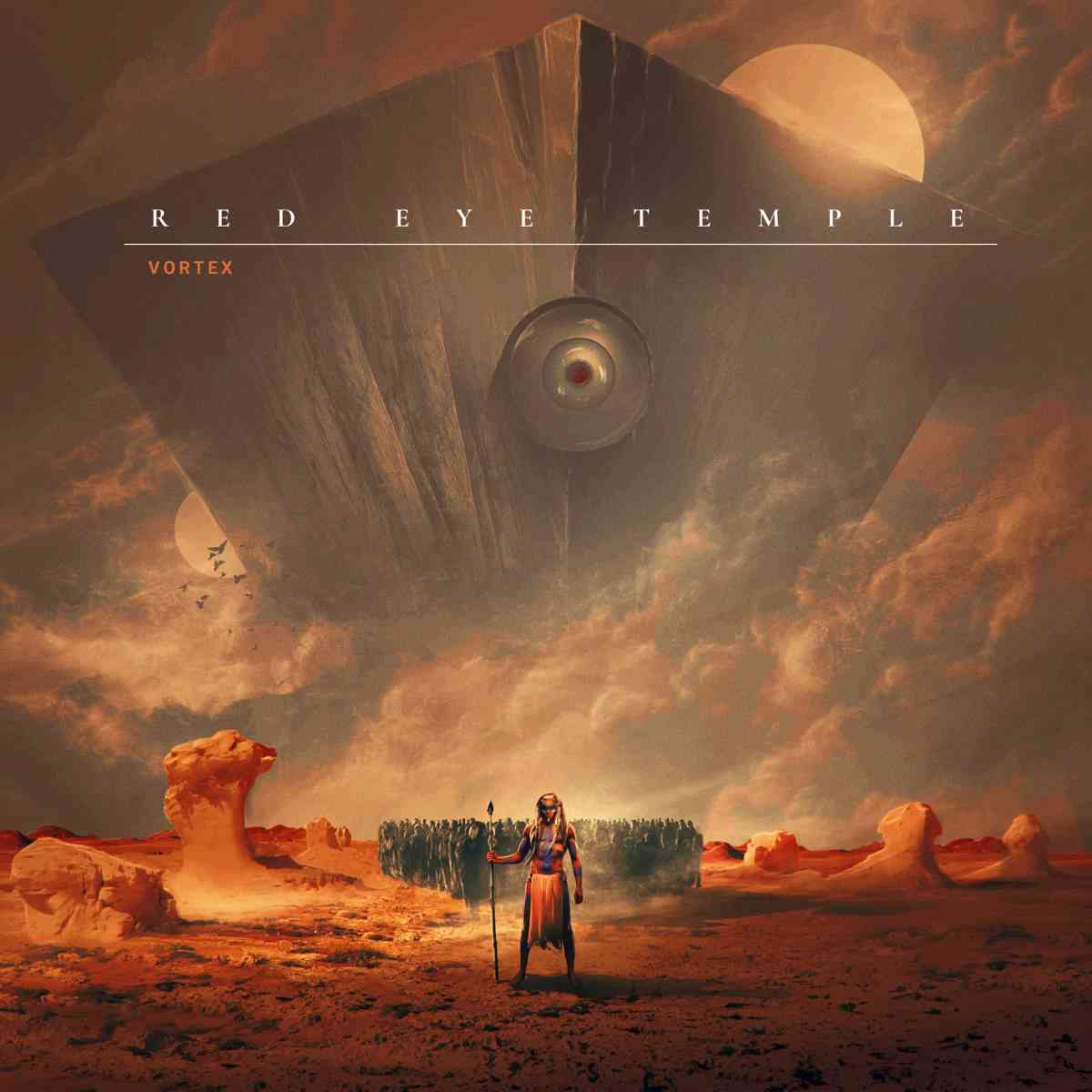 Red Eye Temple - Vortex - album cover