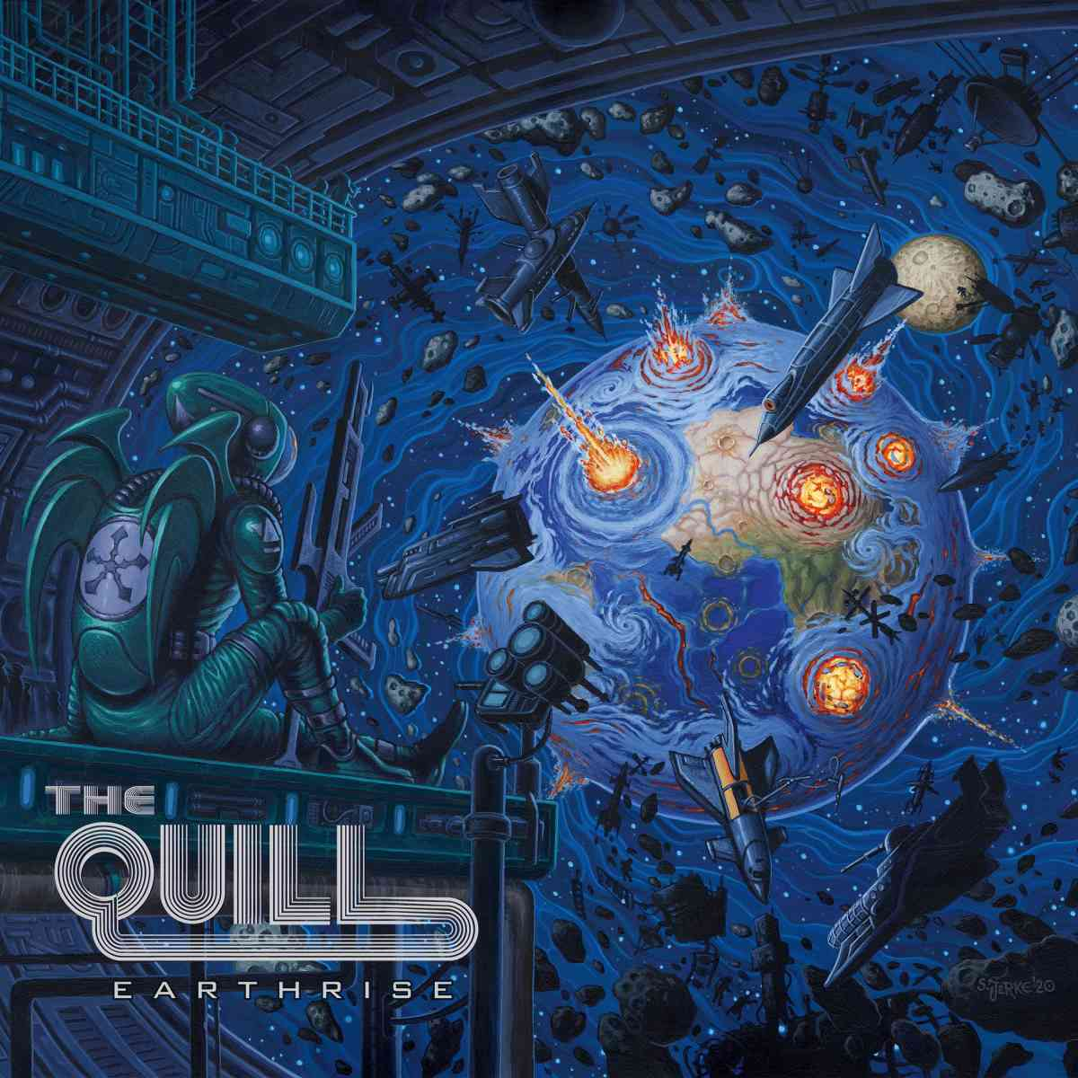 The Quill - Earthrise - album cover
