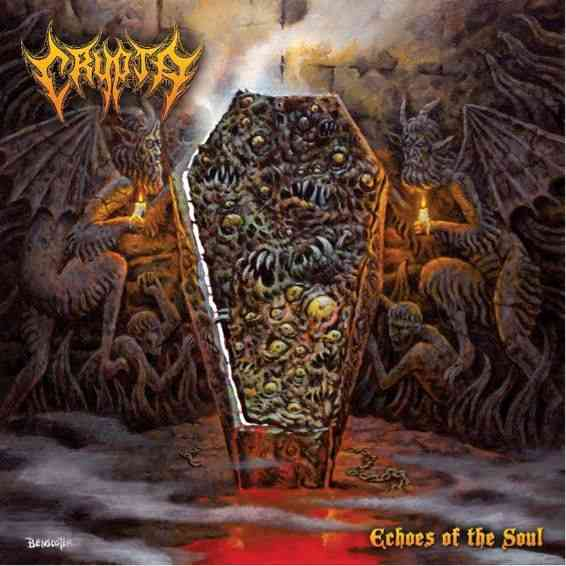 CRYPTA - Echoes of the Soul - album cover