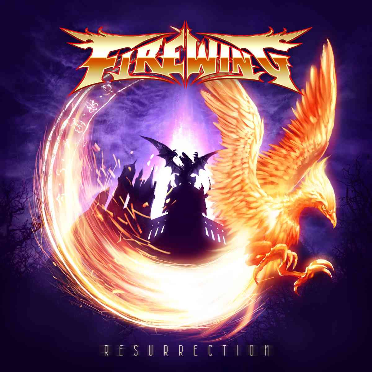 FireWing - Resurrection - album cover