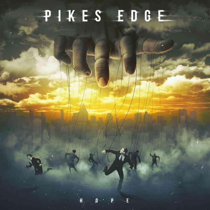 PIKES EDGE - hope - album cover