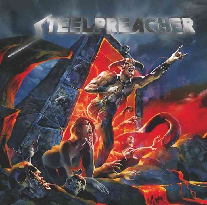 Steelpreacher - Back From Hell - album cover